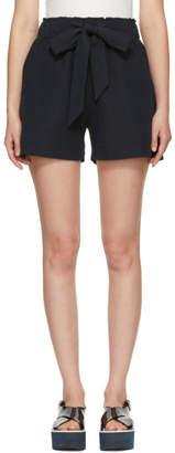 YMC Navy Togawa Tie Shorts