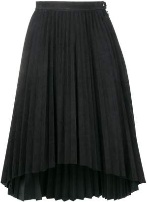 Isaac Sellam Experience asymmetric hem pleated skirt