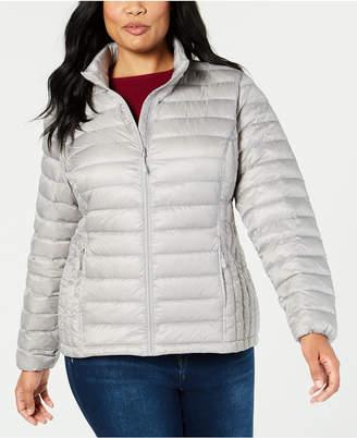 a77076e437d 32 Degrees Plus Size Packable Puffer Down Coat