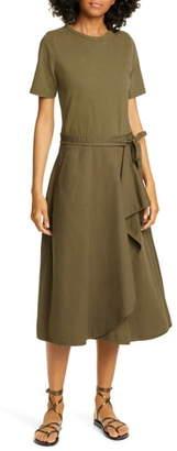 Sea Scout Ruffle Midi Dress