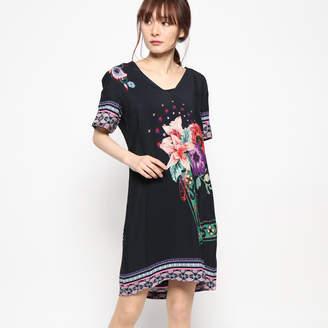 Desigual (デジグアル) - デシグアル Desigual ドレスショート袖