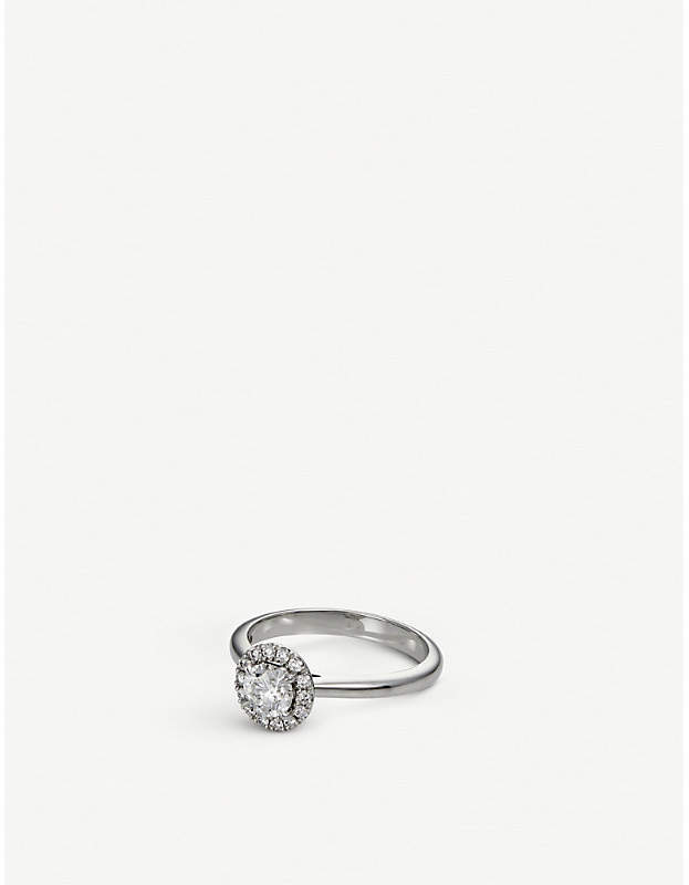 BUCHERER JEWELLERY Joy 18ct white gold and diamond ring