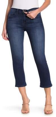 Sneak Peek Denim Dark Wash Mid Rise Micro Flare Jeans