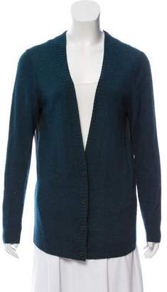 Reed Krakoff Silk-Blend V-Neck Cardigan
