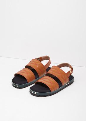 Marni Western Stitch Sandal $850 thestylecure.com