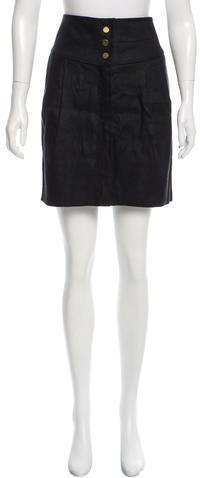 Tory BurchTory Burch Linen Mini Skirt