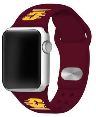 Affinity Bands Central Michigan Chippewas 38mm Silicone Sport Band fits Apple Watch - BAND ONLY