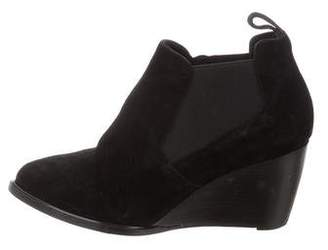 Robert Clergerie Pointed-Toe Suede Boots
