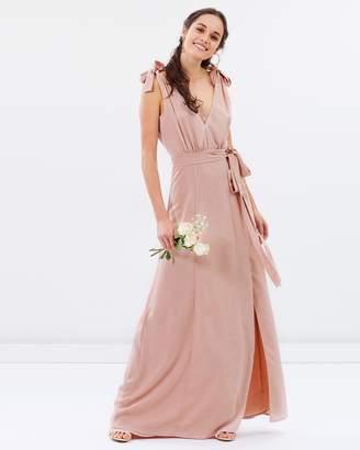 Amelie V-Neck Maxi Dress