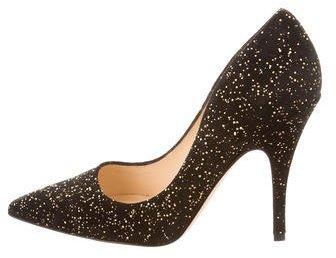 Kate Spade Kate Spade New York Metallic Pointed-Toe Pumps