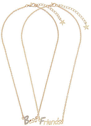 Accessorize BFF Charmy Pendant Necklace Pack