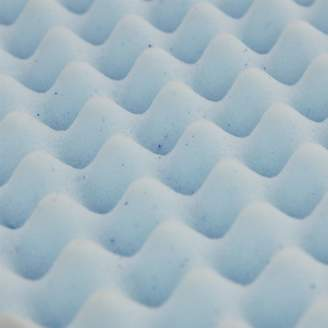 Furinno 2-Inch Egg Crate Gel HD Foam Mattress Topper, Soft