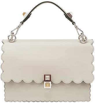Fendi nude Kan I leather shoulder bag