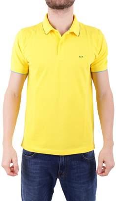 Sun 68 Cotton Blend Polo Shirt