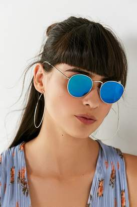 Urban Outfitters Harper Metal Round Sunglasses