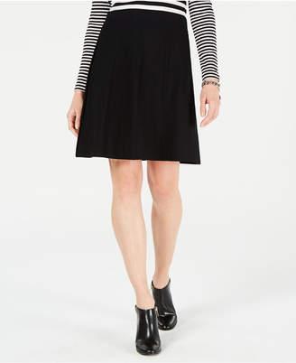 Tommy Hilfiger A-Line Knit Skirt