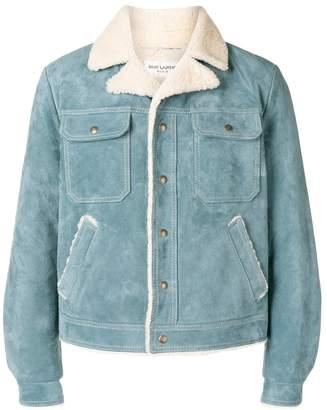 Saint Laurent shearling jacket