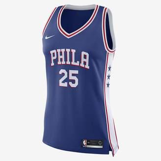 Nike Joel Embiid Icon Edition Swingman (Philadelphia 76ers) Women's NBA Connected Jersey