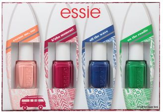 Essie 4-pc. Spring Trend 2017 Nail Polish Kit $18 thestylecure.com