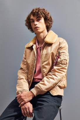 Alpha Industries X UO B-15 Slim-Fit Bomber Jacket