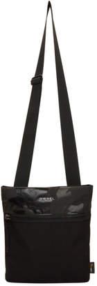 Diesel Black and Grey F-Urbhanity Crossbody Bag