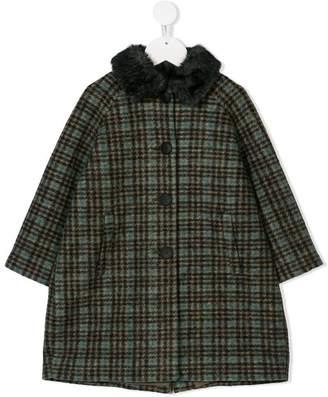 Amelia Milano tartan coat