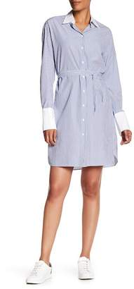 Rag & Bone Essex Silk Blend Shirt Dress