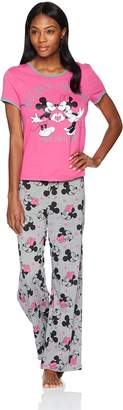 Disney Women's Mouse 2-Piece Pajamas Set