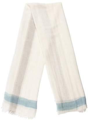 Malo Colorblock Linen Scarf