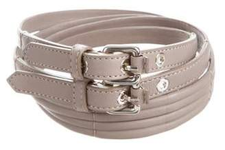 Schumacher Double Buckle Belt