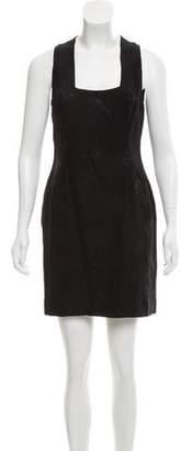 Gianni Versace Sleeveless Jacquard Dress