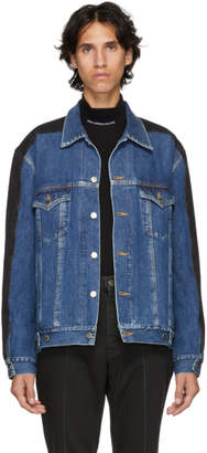 John Lawrence Sullivan Johnlawrencesullivan Indigo and Black Denim Jacket