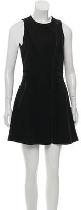 Rag & Bone Zip-Up Mini Dress