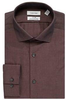 Calvin Klein Slim-Fit Broadcloth Dress Shirt