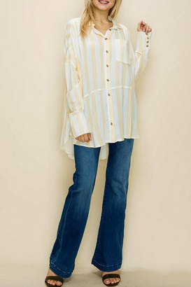 Glam Loose Striped Tunic