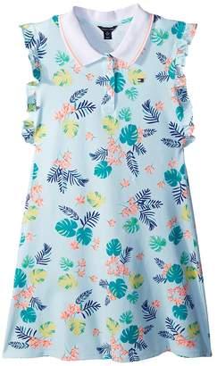 Tommy Hilfiger Palm Polo Dress Girl's Dress