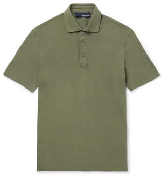 Lardini Cotton-Jersey Polo Shirt