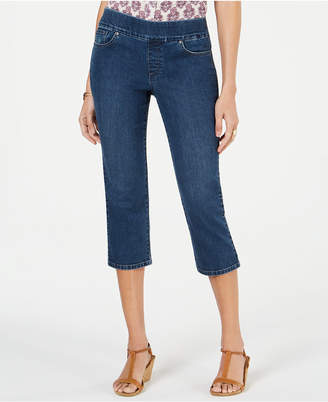 Style&Co. Style & Co Petite Avery Pull-On Capri Jeans