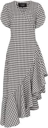 Paper London Colorados gingham ruffle dress