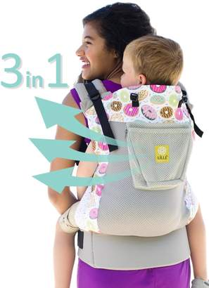 Lillebaby 3 in 1 CarryOn Toddler Carrier - Air - Mist w/Donut