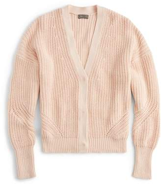 J.Crew Point Sur Ribbed Cardigan