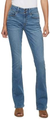 Mudd Juniors' Low-Rise Slim Bootcut Jeans