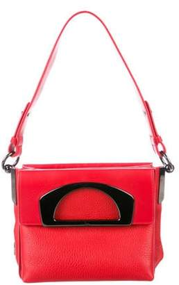 Christian Louboutin Grained Leather Satchel Grained Leather Satchel
