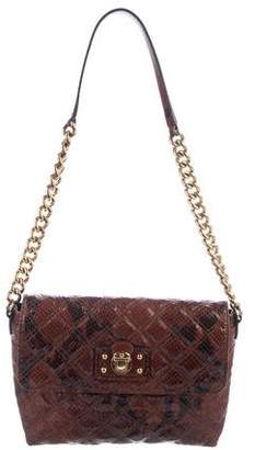 Marc Jacobs Snakeskin Shoulder Bag