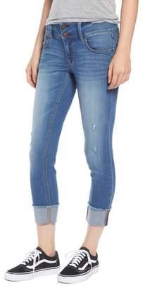 1822 Denim Distressed Roll Cuff Jeans