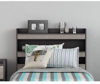 Homestar Central Park Twin Bookcase Headboard in Multiple Finish