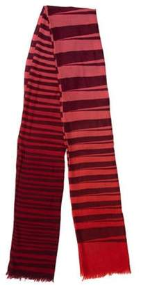 Armand Diradourian Wool & Cashmere-Blend Printed Scarf w/ Tags multicolor Wool & Cashmere-Blend Printed Scarf w/ Tags