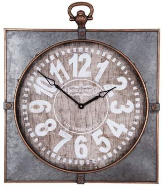 LIBRARY FORESIDE Wall Clock