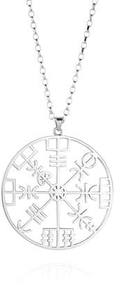 Hendrikka Waage Direction Symbol Sterling Silver Necklace