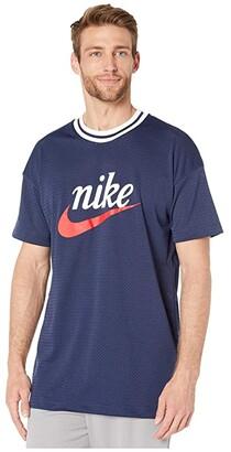 Nike NSW Heritage Top Short Sleeve Mesh Graphics